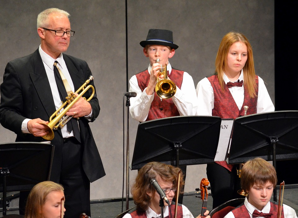 Student Jazz Concerts can increase visibility of the student jazz band.