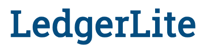 LedgerLite Accounting Software for Nonprofits and Booster Clubs