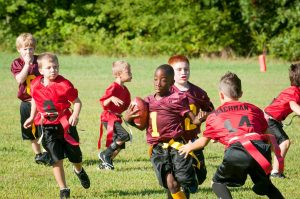 Try holding athletic clinics where older athletes teach younger athletes