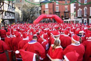 Booster club Winter Holiday Fundraiser - Santa Fun Run