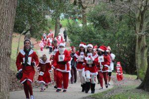 Booster Club Winter Holiday Fundraisers - Santa Fun Run