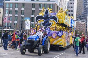 Booster Club Mardis Gras Fundraiser: Mardis Gras Parade