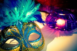 Booster Club Mardis Gras Fundraiser: Mask Making Party