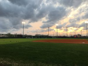 Cypress Ranch High School Baseball booster club baseball field