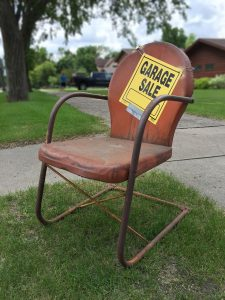 A spring garage sale party can be a great way to fundraise for your booster club!