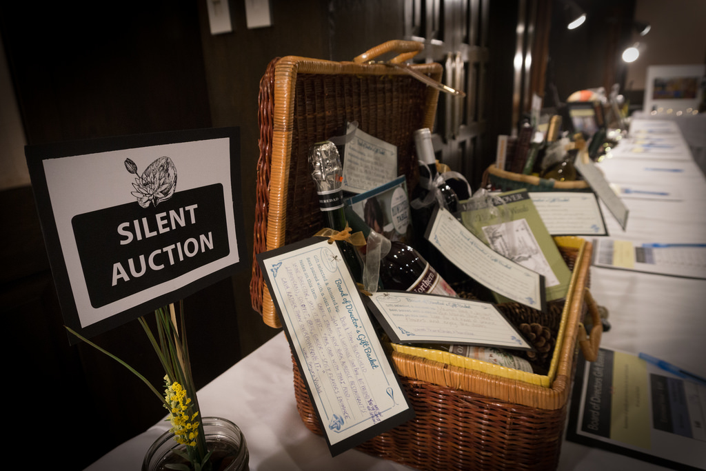 A Silent Auction is a great way to raise money for Booster Clubs