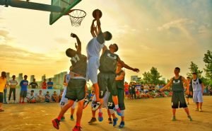 Summer Booster Club Fundraising Ideas include sports tournaments like a basketball tournament