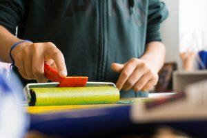 Make an impact through purchasing art supplies via your booster club