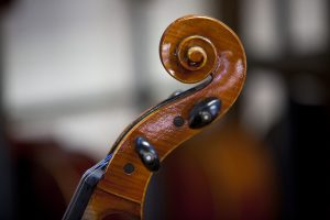 Violin players are critical to orchestras supported by booster clubs