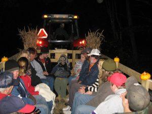 Spooky Halloween Hayride fundraiser