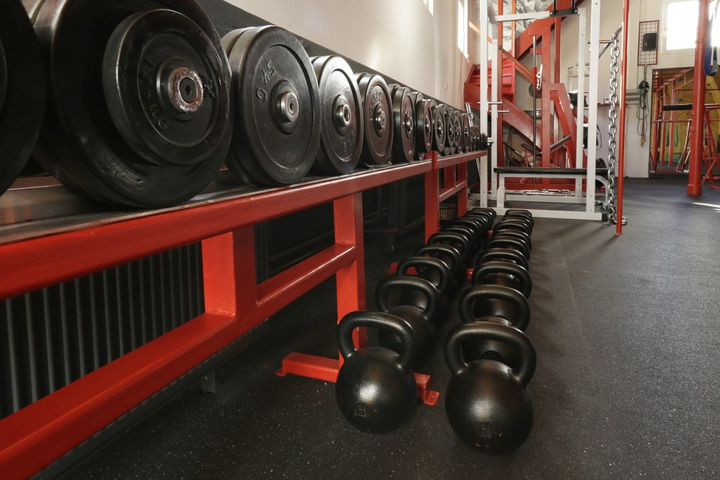 Weights accepted as in-kind donation to athletic program boosters