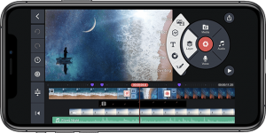 KineMaster mobile phone video editing app - perfect for booster clubs to use