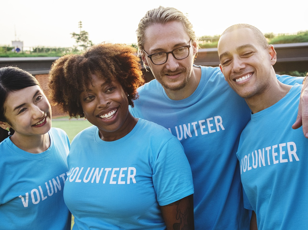 Booster Club Volunteers having fun and building community