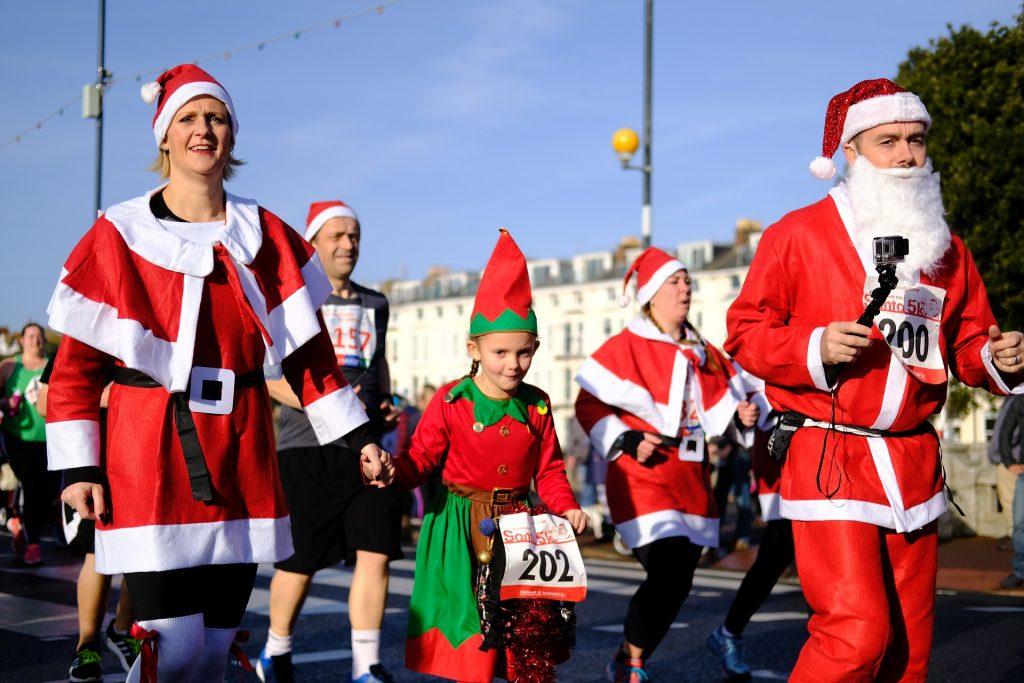 Santa Run Booster club 5k Charity Run