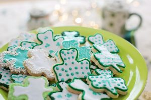 Plan booster club fundraising St. Patrick's Day bake sales in advance