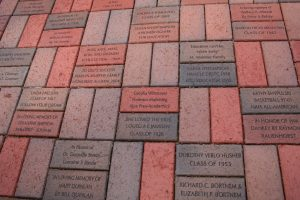 Engraved Bricks from Booster Club Memorial Day Fundraiser