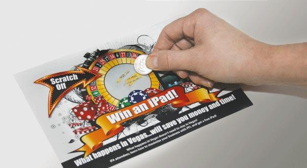 Booster Club Scratch Card Fundraiser