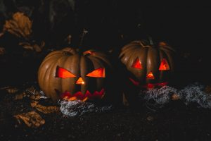 Booster club halloween pumpkin carving contest